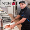 David Dawoud with Domino's Pizza is Silver Retailer of the Year