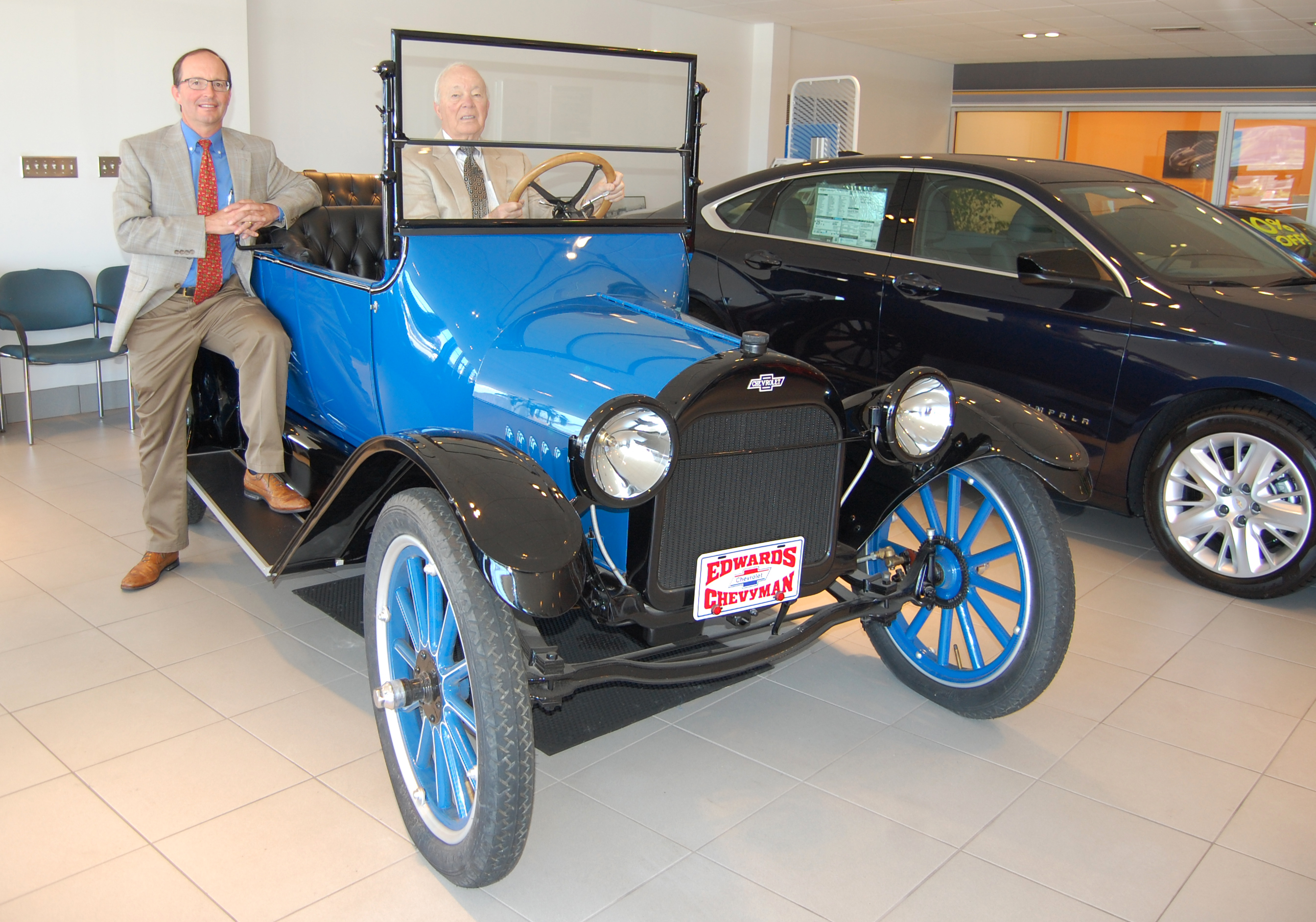 Edwards Chevrolet Noted For 101 Years In Business