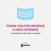 Face covering options for your staff and customers; Video, tutorials, graphics and links