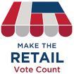 Thank you for making the retail vote count; Plan to return to the polls on July 17