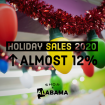 Record $14 billion spent during holidays in Alabama; Sales for all of 2020 grew 7%; 2021 should see similar growth